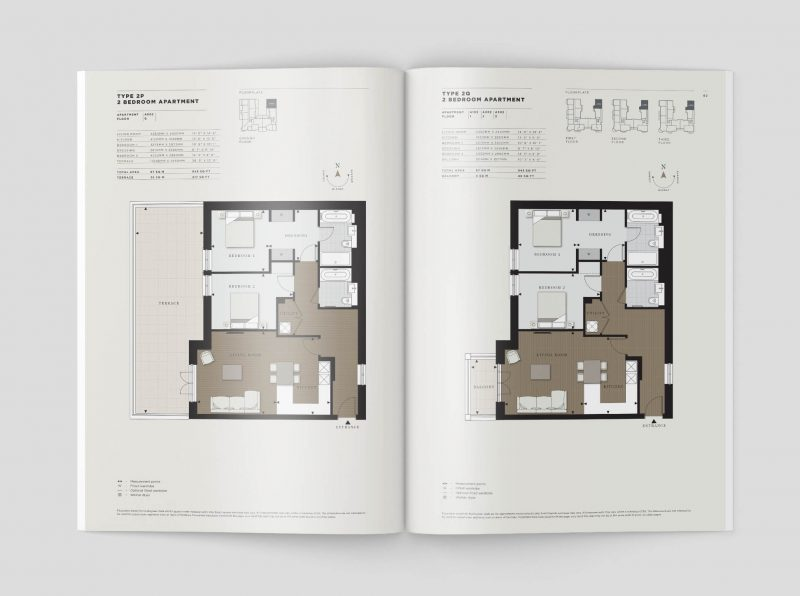 Hurlingham Walk floor plans