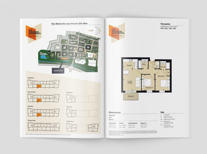 Kenett Island floor plan brochure