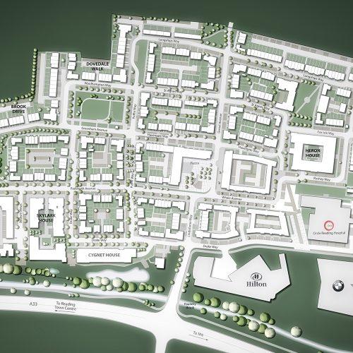 Kennet Island site plan