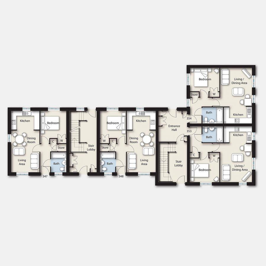 Regis floor plans property illustration