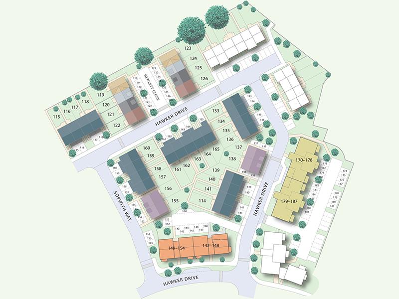 Bleriot Gate Redrow site plan_V6